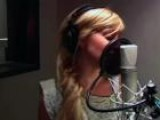 Ashley Tisdale Recording Headstrong
