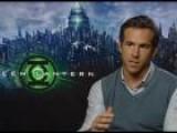 Green Lantern: Ryan Reynolds And Mark Strong Interview