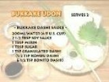 How To Make Bukkake Udon