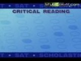 How To Answer Critical Reading SAT Questions