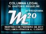 20&#186 Programa: Reclamos Atencion Al Cliente - 08 02 2011 - Magazine M20 - Cablevision
