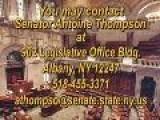 Legislative Update With Senator Antoine Thompson - April 8, 2010