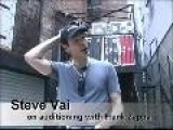 Steve Vai On His Audition For Frank Zappa&apos S Band