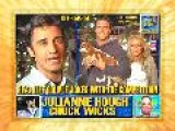 Chuck Wicks And Julliane Hough Joke With Gilles Marini