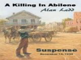 A Killing In Abilene - Suspense