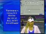 Anna Kournikova - Everyone Benefits From Tennis
