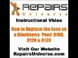 Blackberry Pearl Lens Repair