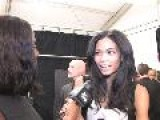 Chanel Iman - Interview - Rock & Republic Backstage - Mercedes Benz Fashion Week New York