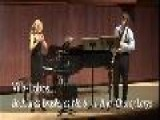 Emily Thomas And Alexander Popov Performing Bachianas Brasileiras