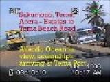 Ghana, Tema-Sakumono-Accra: Estastes To Tema Beach Road