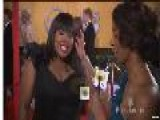 GLEE&apos S Amber Riley At 17th Annual SAG Awards