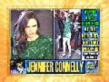 Jennifer Connelly Sexy In A Green Dress