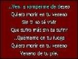 Karaoke Alejandro Sanz - Quiero Morir En Tu Veneno KK: Www.descargar-karaoke.com
