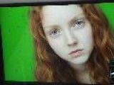 Lily Cole Behind The Scenes In &apos RAGE&apos