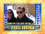 Pierce Brosnan Signs For Fans At Sundance