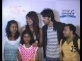 Priyanka Chopra & Ranbir Kapoor Promote Movie ANJAANA ANJAANI At Airtel Champions League Ranbir Kapoor Priyanka Chopra