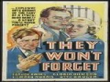 They Won&apos T Forget 1937
