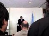 UNICEF: International Year Of Sanitation 2008 Launch