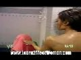 WWE Melina Perez - Shower Scene