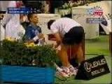 Youzhny Gets A Handjob - Errr... Massage Sexy ...tennis Scene!