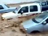 Cars Swept Away By Floods In Jeddah