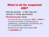 Autism ASD - What To Do