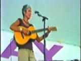 Joan Baez Singing Diamonds