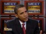 Russert Interviews Sen. Obama