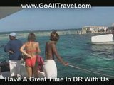 Wild Party Boat Ride In The Dominican Republic - Part #1