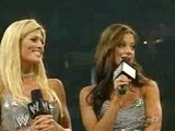 WWE Ashley Massaro Vs Victoria With Torrie Wilson & Candice