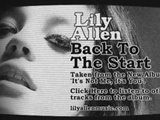 Lily Allen Back To The Start - It's Not Me, It's You
