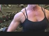 FEMALE BODYBUILDER Video Routine Colette Nelson DIYMUSCLE.CO