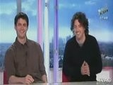 NRJ Live - Interview James Lafferty & Mark Schwahn 21-04-09