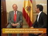 Shakira Y Alejandro Sanz Se Reúnen Con El Rey