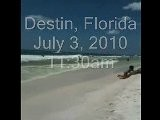 Destin Florida Oil On Beach Spill Update Gulf Mexico