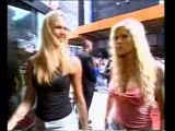 Torrie Wilson & Stacy Keibler Coming Out Of The Limo