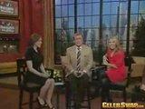 Alyssa Milano On Regis&Kelly