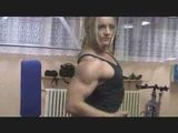 FIGURE MODEL Katka Kyptova DIYMUSCLE Female Bodybuilder Rout