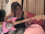 Hello Kitty - Guitare Fender