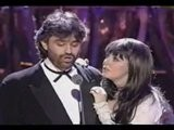 IMPRESIONANTE ANDREA BOCELLI Y SARA BRIGHTMAN TIME TO SAY GO