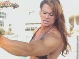 Elena Seiple Muscles Drenched In Sun