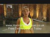 New Hannah Waterman Exercise DVD | Body Blitz Workout