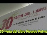 30 Feria Del Libro Ricardo Palma