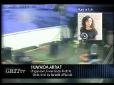 GRITtv: Huwaida Arraf: Detained By Israel