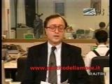 Moana Pozzi In Tribuna Elettorale Del PdA. 1993. III Turno