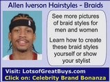 Allen Iverson Hairstyles And Braid Design Pictures