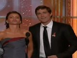 Matthew Fox & Sofia Vergara - 67th Golden Globes Awards