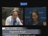 Jean Pierre Elkabbach Tacle Ségolène Royal