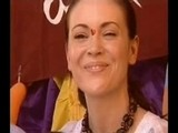 Alyssa Milano In India - Days 3 & 4