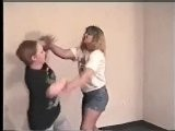 Mature Women Catfight With Lots Of Slapping & Hairpulling
